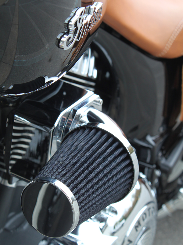 Custom Motorcycle Air Cleaners : New air filters from wimmer custom cycle indian